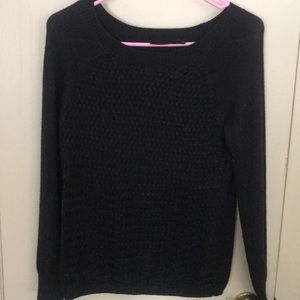 Limited size small black sweater top